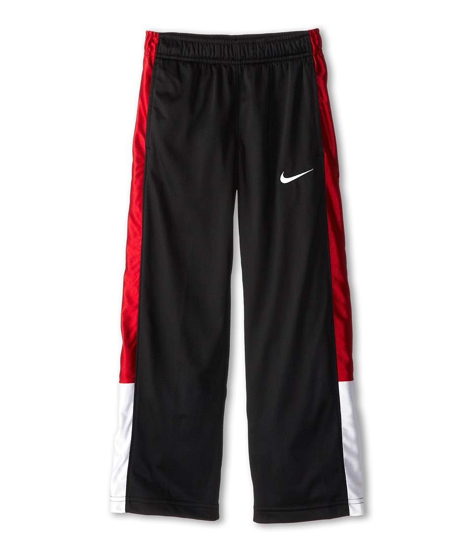 Nike Kids - OT Pant V2 (Little Kids/Big Kids) (Black/Gym Red/White/White) Boy