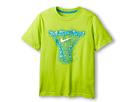 Nike Kids Water Net TD Tee (Little Kids/Big Kids) (Fierce Green/Light Photo Blue)