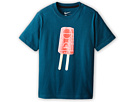 Nike Kids Popsicle Lane TD Tee (Little Kids/Big Kids) (Space Blue/Black)