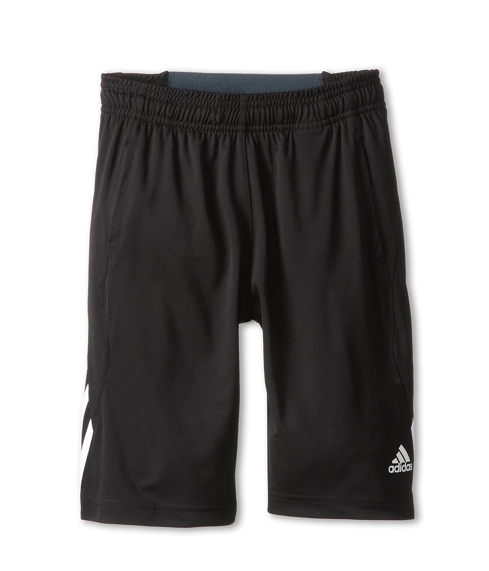 adidas Kids - Ultimate Swat Short (Big Kids) (Black/White) Boy's Shorts