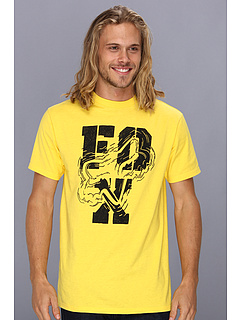 SALE! $15.99 - Save $6 on Fox Five Steps S S Tee (Yellow) Apparel - 27.32% OFF $22.00
