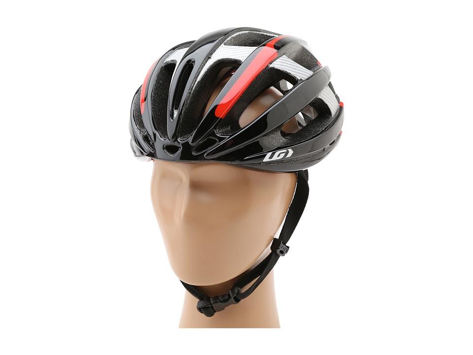 Louis Garneau - Quartz II (Black/Red) Helmet