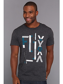 SALE! $17.99 - Save $8 on Fox Inverted S S Premium Tee (Heather Black) Apparel - 30.81% OFF $26.00