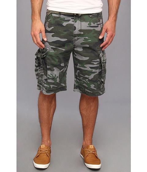 0604e5c972 UPC 759855679854 product image for UNIONBAY Survivor Camo Cargo Belted Short  (Archer Camo) Men's ...