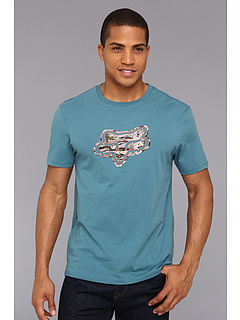 SALE! $12.99 - Save $11 on Fox Downhaul S S Premium Tee (Maui Blue) Apparel - 45.88% OFF $24.00