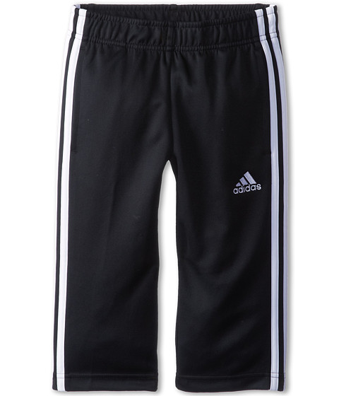 adidas Kids - Climalite Capri (Big Kids) (Black/White) Girl