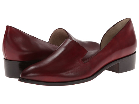 10 Crosby Derek Lam - Dora (Oxblood Burnished Vacchetta) Women's Shoes