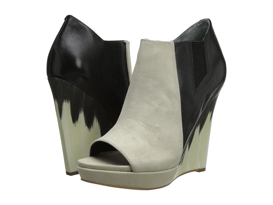10 Crosby Derek Lam - Gerri (Beige Suede/Black Eco Leather) Women's Shoes