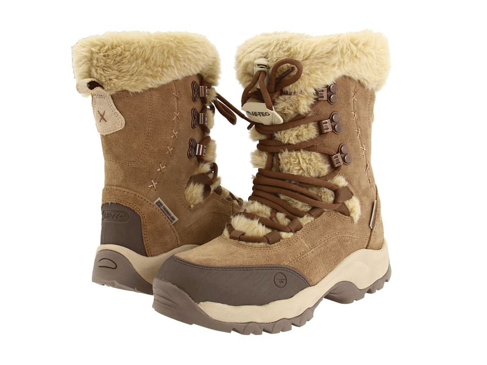 Hi-Tec - St. Moritz 200 WP (Brown/Cream) Women's Cold Weather Boots