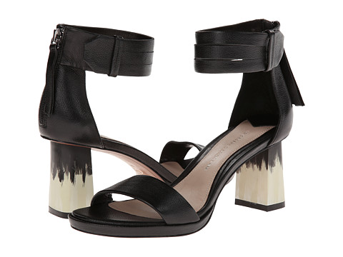 10 Crosby Derek Lam - Marcel (Black Tumbled Leather) Women