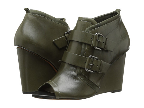 10 Crosby Derek Lam - Zale (Olive Eco Leather/Olive Suede) Women
