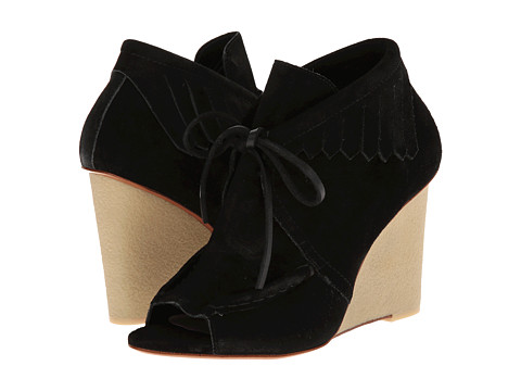 10 Crosby Derek Lam - Zared (Black Suede) Women's Shoes