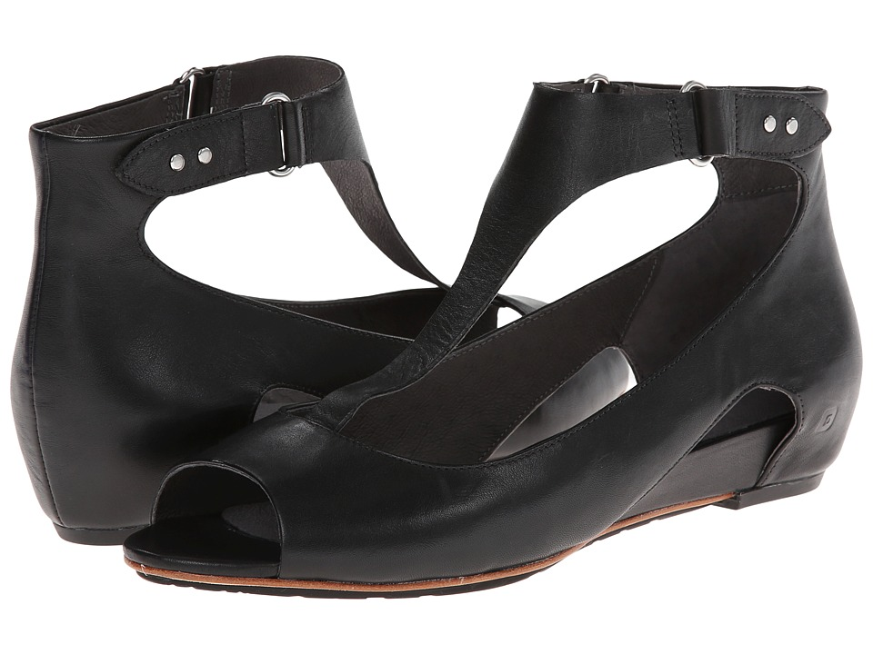 Tsubo - Gerri (Black Leather) Women