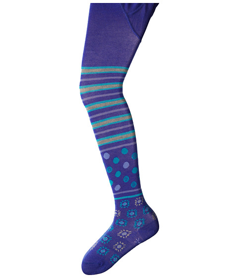 Smartwool - Sunstripe Tight (Toddler/Little Kid/Big Kid) (Liberty) Women's Thigh High Socks Shoes