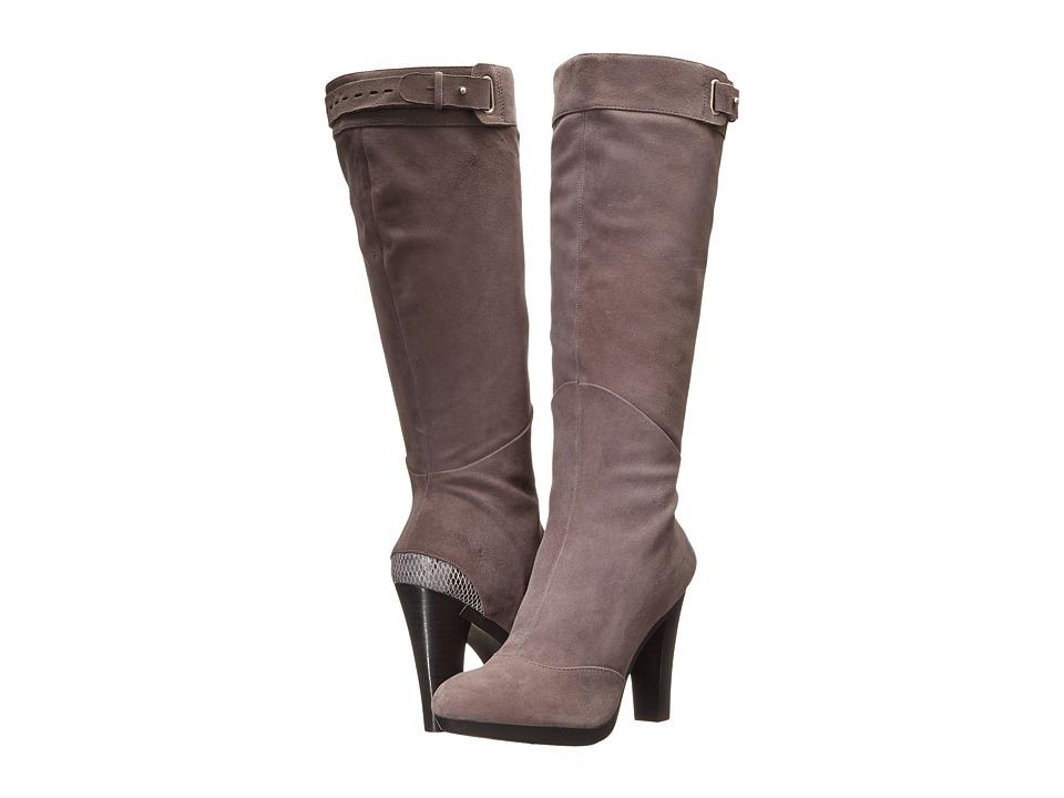 Tsubo - Tiauna (Charcoal Suede) Women's Zip Boots