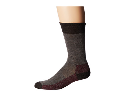 Smartwool - Hiker Street (3-Pair Pack) (Taupe Heather) Men's Crew Cut Socks Shoes
