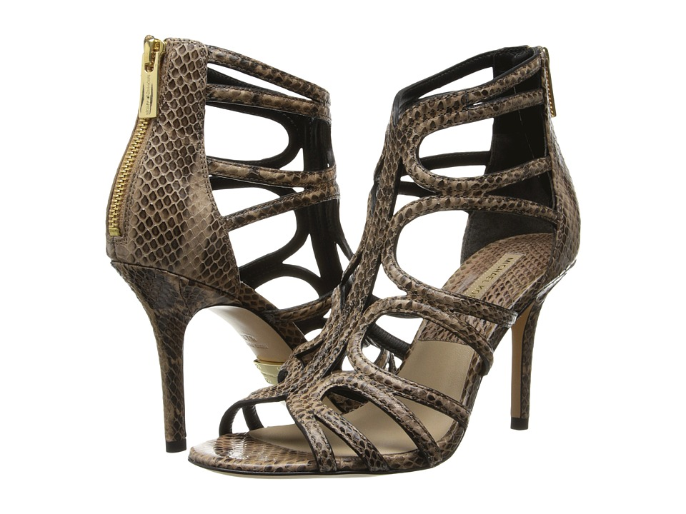 Michael Kors - Norma (Toffee 18K Genuine Snake) High Heels