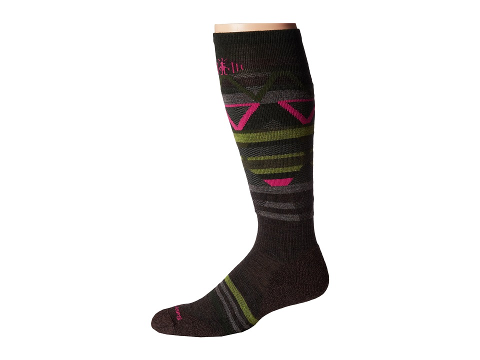 Smartwool - PhD Slopestyle Margarasta (Chestnut) Men's Crew Cut Socks Shoes
