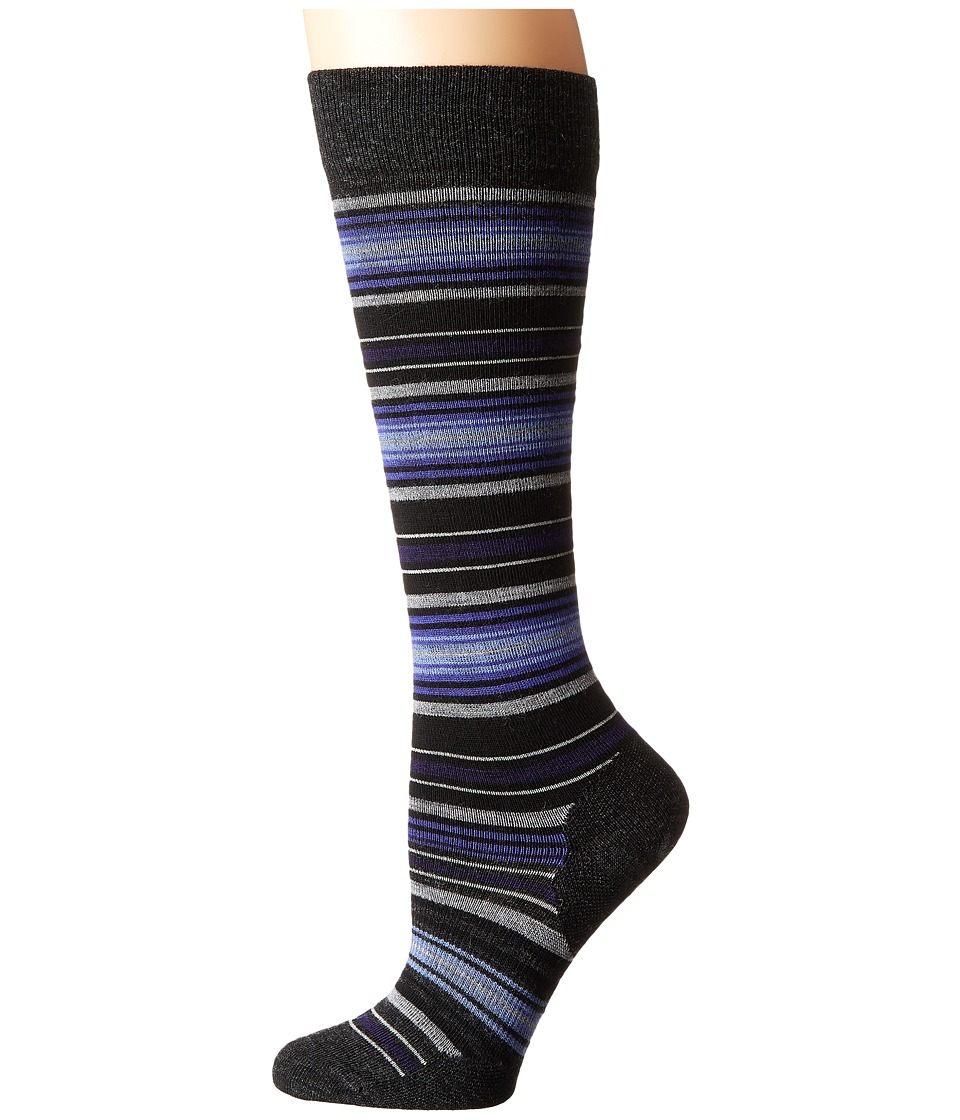 Smartwool - Arabica II (Charcoal Heather) Women's Knee High Socks Shoes