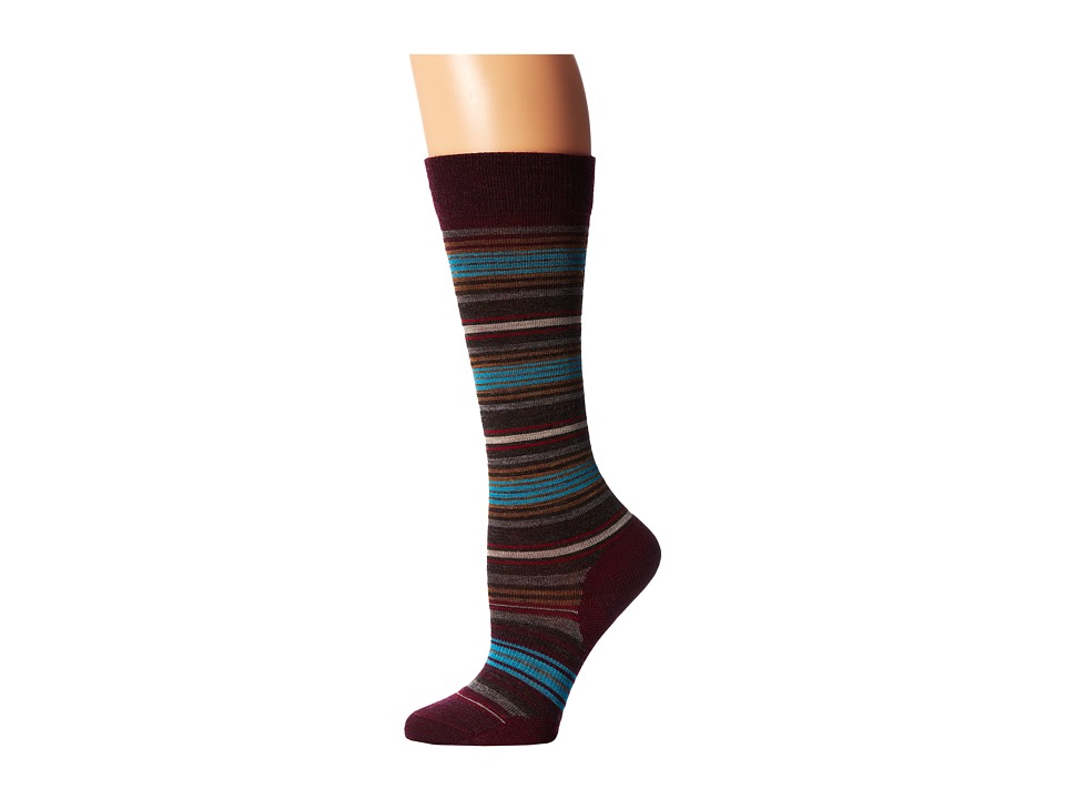 Smartwool - Arabica II (Aubergine Heather) Women's Knee High Socks Shoes