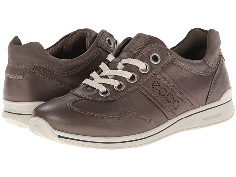 ECCO - Mobile II (Warm Grey/Warm Grey) Women's Lace up casual Shoes