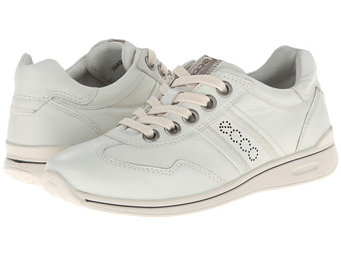 ECCO - Mobile II (Shadow White) Women's Lace up casual Shoes