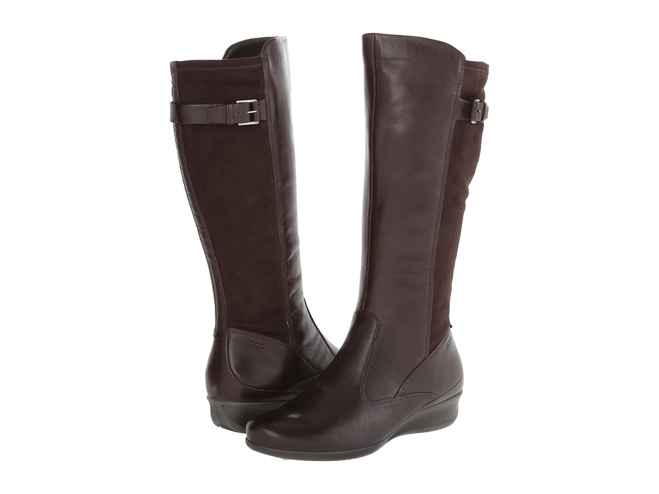 ECCO - Abelone Tall Boot (Coffee/Coffee) Women's Boots