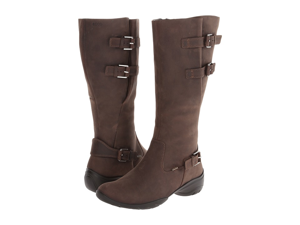 ECCO - Rise Tall Boot (Coffee) Women's Boots