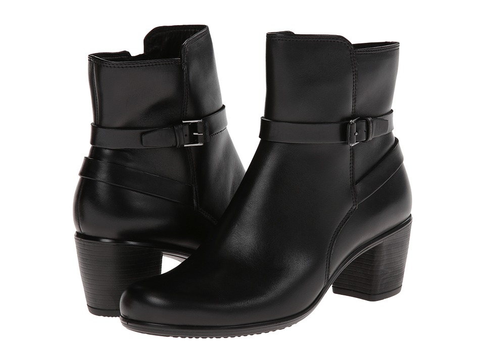 ECCO Touch 55 Ankle Boot (Black) Women