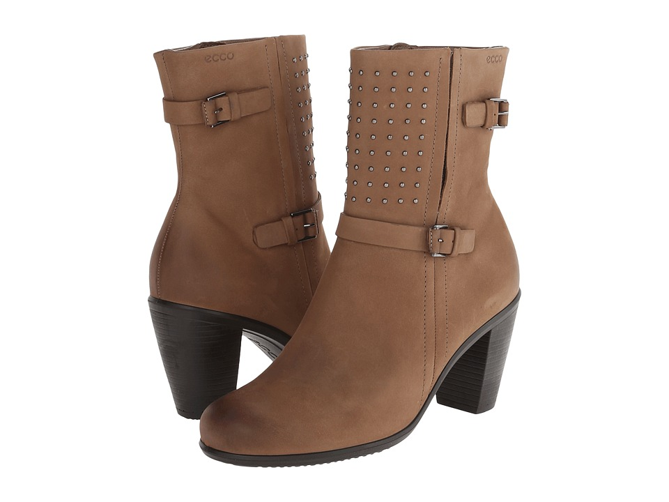 ECCO Touch 75 Mid Cut Bootie (Birch) Women