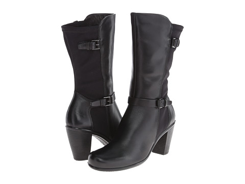 ECCO - Touch 75 Buckle Boot (Black/Black) Women