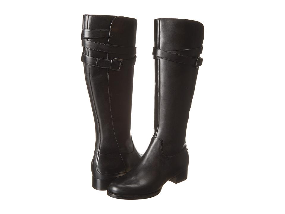 ECCO - Sullivan Tall Strap Boot (Black) Women