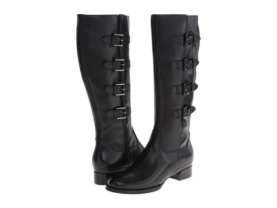 ECCO - Sullivan Buckle Boot (Black) Women's Boots