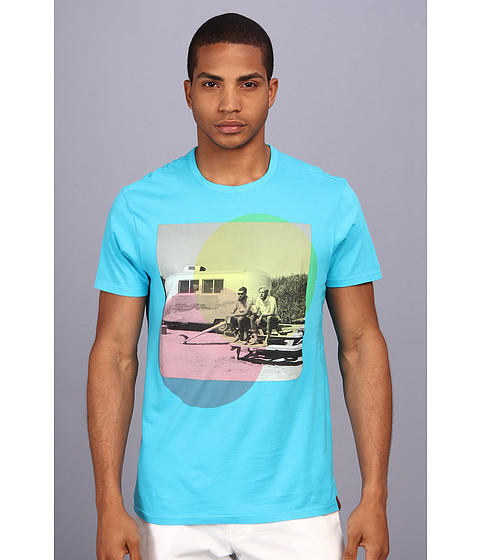 Ben Sherman - Rockaway Days T-Shirt (Blue Atoll) Men's T Shirt