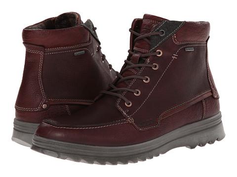 ECCO - Darren GTX Boot (Rust) Men's Lace-up Boots