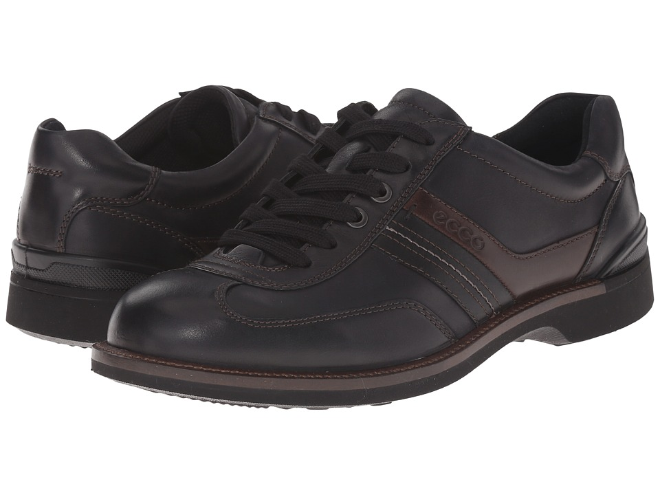 ddb4cd15c4 UPC 737429590972 product image for ECCO Fenn Tie (Balck/Black/Coffee) Men's  ...