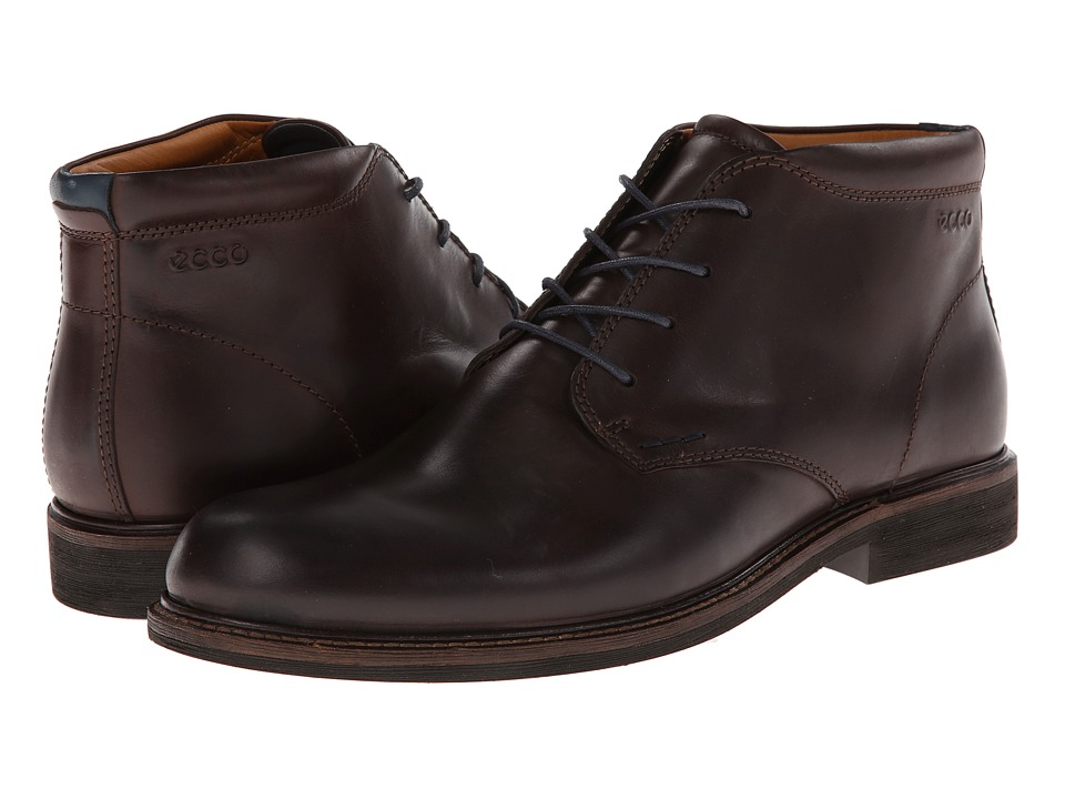 ECCO Findlay Chukka Boot (Coffee/Marine) Men