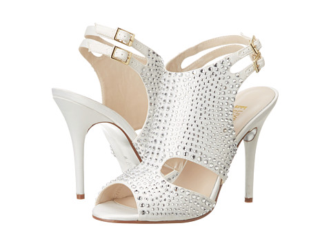 E! Live from the Red Carpet - Doris (Ivory Sateen) High Heels