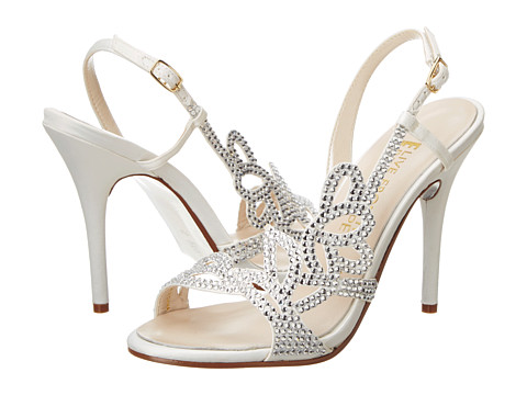 E! Live from the Red Carpet - Yanni (Ivory Satin) High Heels
