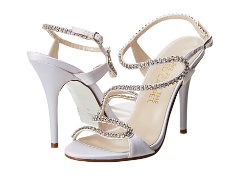 E! Live from the Red Carpet - Wallis (White Sateen) High Heels