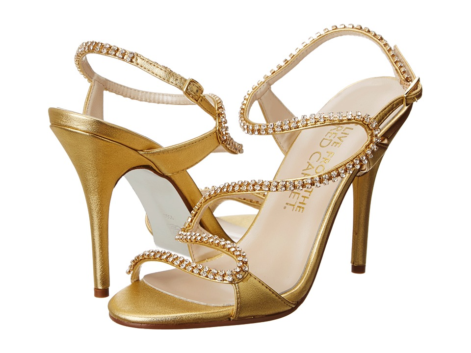 E! Live from the Red Carpet - Wallis (Oro Gold Vitello) High Heels