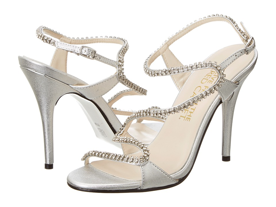 E! Live from the Red Carpet - Wallis (Silver Vitello) High Heels