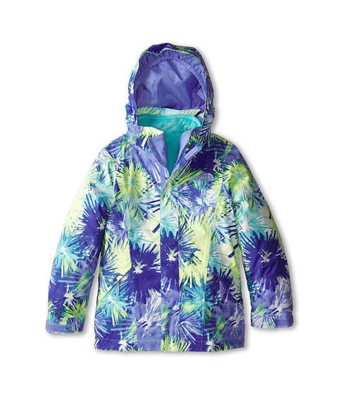 The North Face Kids - Reversible Mila Triclimate Jacket (Little Kids/Big Kids) (Dynasty Blue Multi) Girl's Clothing