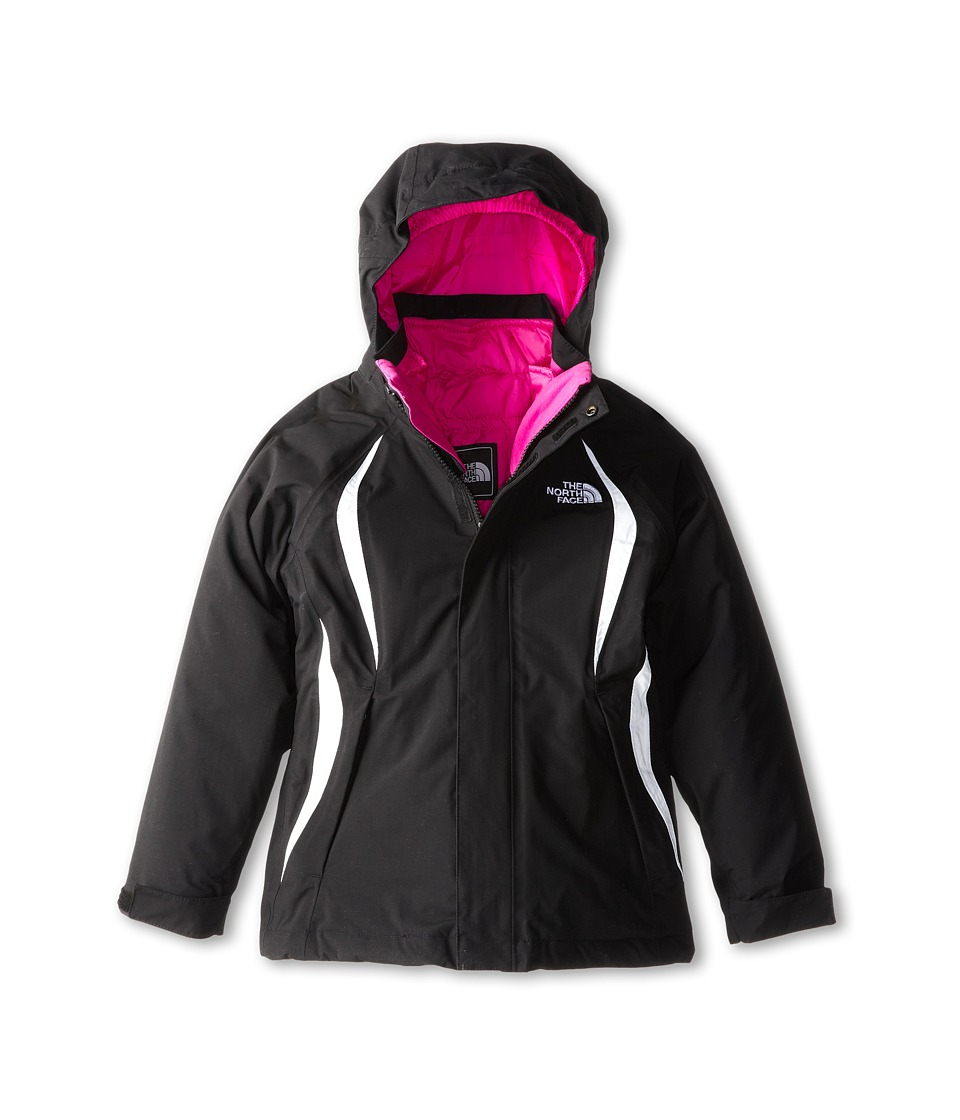 The North Face Kids - Kira 2.0 Triclimate Jacket (Little Kids/Big Kids) (TNF Black) Girl