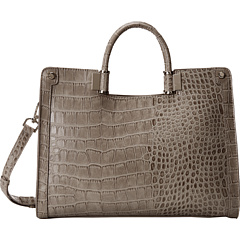 SALE! $64.99 - Save $85 on Ivanka Trump Rose Top Handle Shopper (Stone Matte Croco) Bags and Luggage - 56.67% OFF $150.00