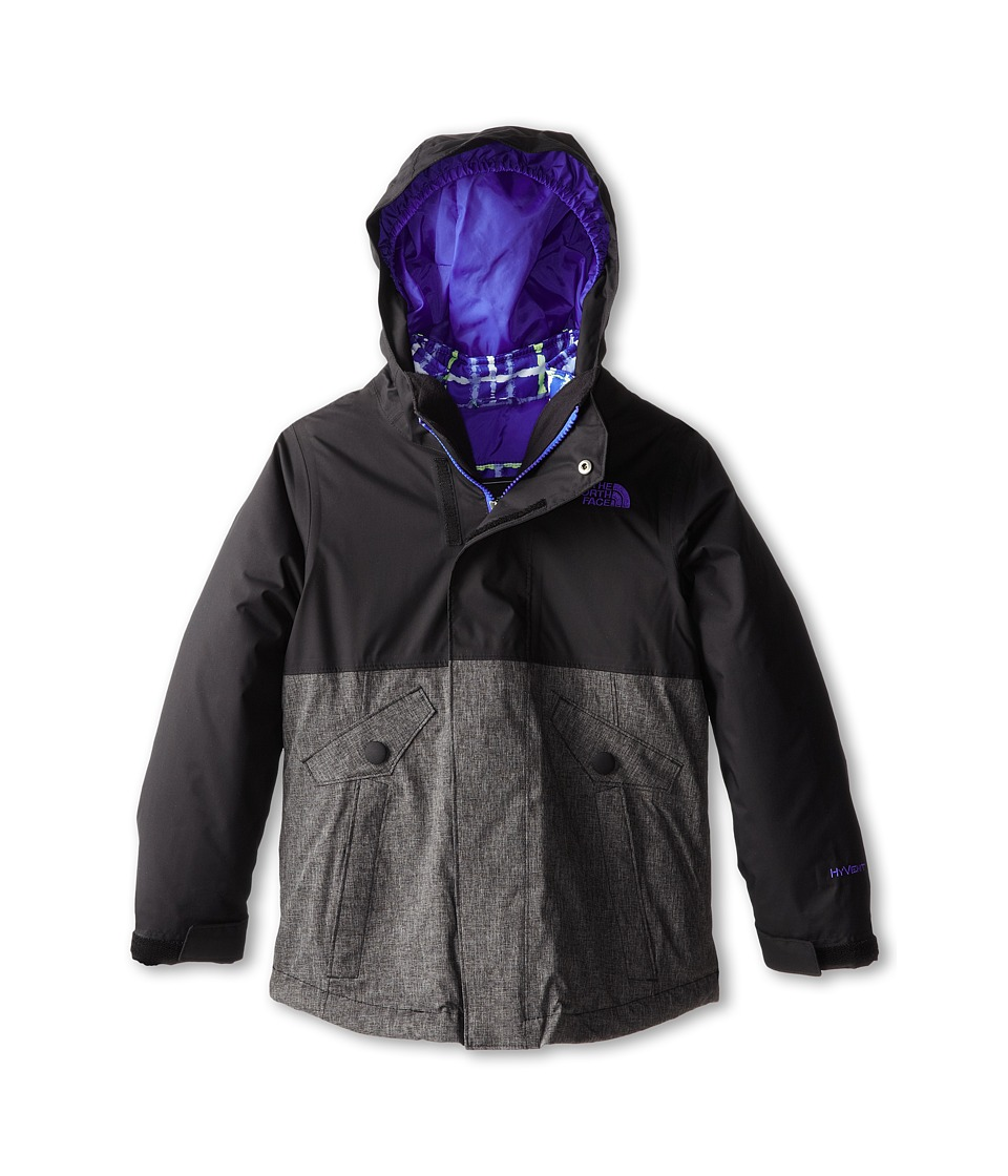 The North Face Kids - Zoe Triclimate Jacket (Little Kids/Big Kids) (TNF Black) Girl