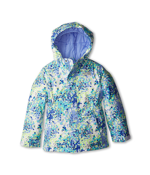 The North Face Kids - Insulated Violet Jacket (Little Kids/Big Kids) (TNF White Multi) Girl's Jacket