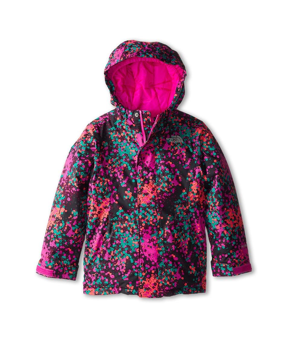 The North Face Kids - Insulated Violet Jacket (Little Kids/Big Kids) (TNF Black Multi) Girl's Jacket