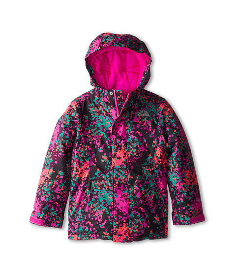The North Face Kids - Insulated Violet Jacket (Little Kids/Big Kids) (TNF Black Multi) Girl