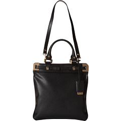 SALE! $64.99 - Save $85 on Ivanka Trump Onyx Top Handle Brief (Black Saffiano) Bags and Luggage - 56.67% OFF $150.00
